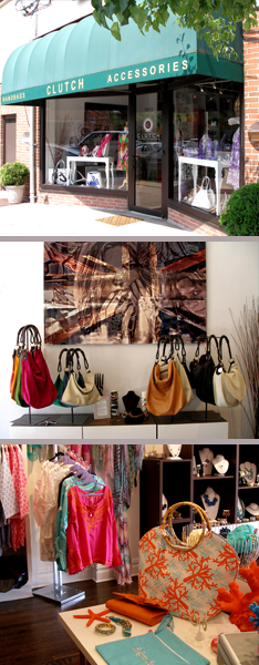 CLUTCH handbags & accessories, Larchmont, NY