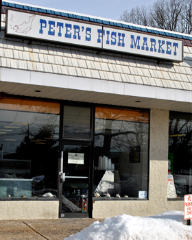 Fish market bergen county nj fresh seafood shop peter for Fishing stores nj
